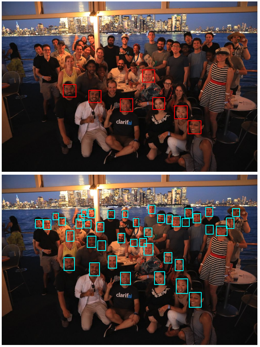 face detection improvement